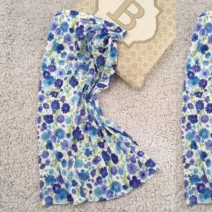 5/$50 Sale Floral Vintage Soft Airy Skirt Straight